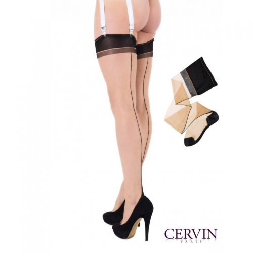 Cervin Seduction BiColor nylonkousen