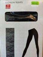 Fashion panty met kant motief