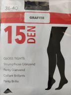 Glans panty 15 den